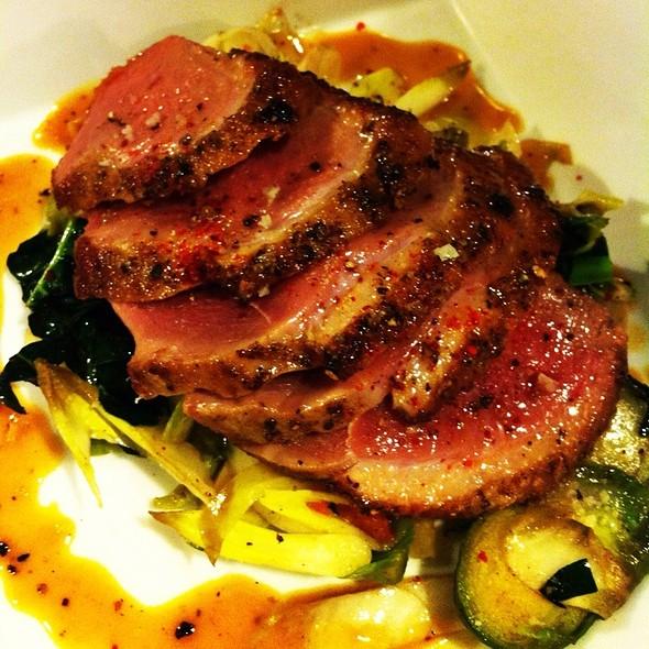 Seared Duck Breast Jus De Mandarine @ Rue Saint Jacques Restaurant