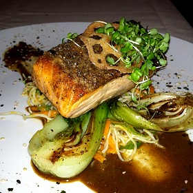 Crispy Skin Atlantic Salmon