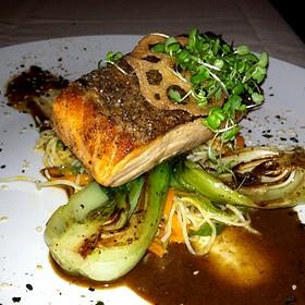 Crispy Skin Atlantic Salmon - Moshulu, Philadelphia, PA
