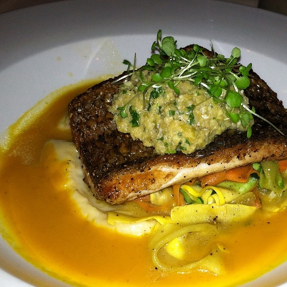 Wild Striped Bass - Moshulu, Philadelphia, PA