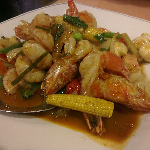 Spicy Shrimps In Thai Style @ 麗江