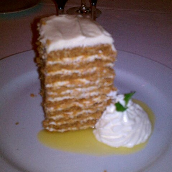 10 Layer Carrot Cake @ Ocean Prime