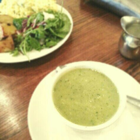 zucchini soup - Lil' Baci - Queen St, Toronto, ON