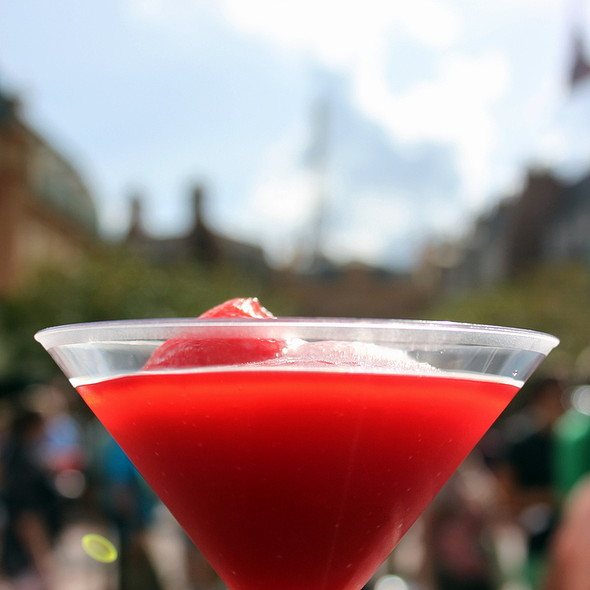 Eiffel Sour Cosmo Slush @ Epcot's Food & Wine Festival