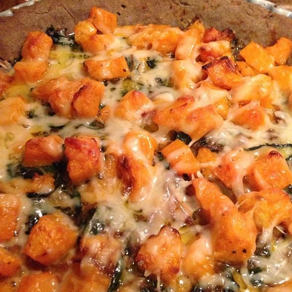 Winter Tart, Buckwheat Crust With Balsamic Onions @ Cafe Martin