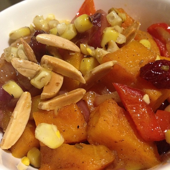 Butternut Squash, Cranberries & Almonds @ Nazca Kitchen
