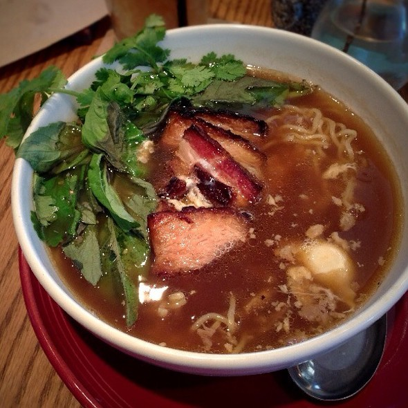 Pork Belly Ramen @ Whiskey Cake