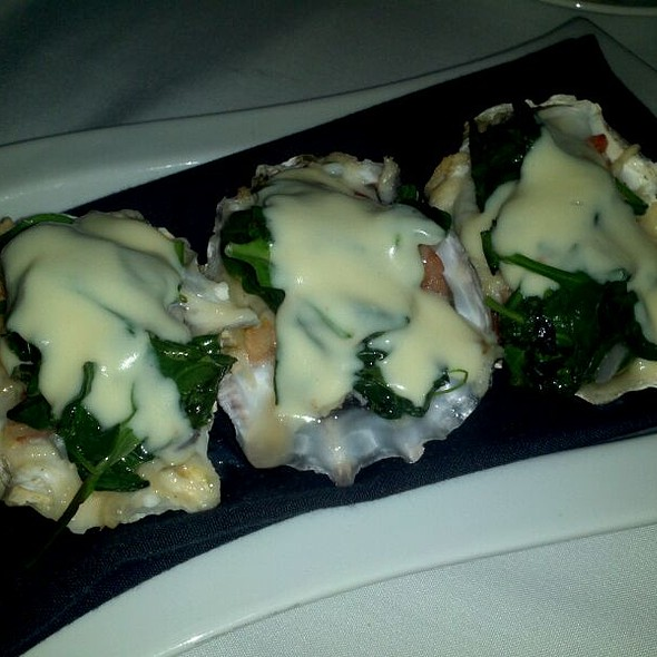 Oysters Rockefeller - The Sky Room, Long Beach, CA