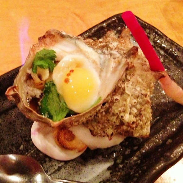 Japanese Conch With Quail Egg