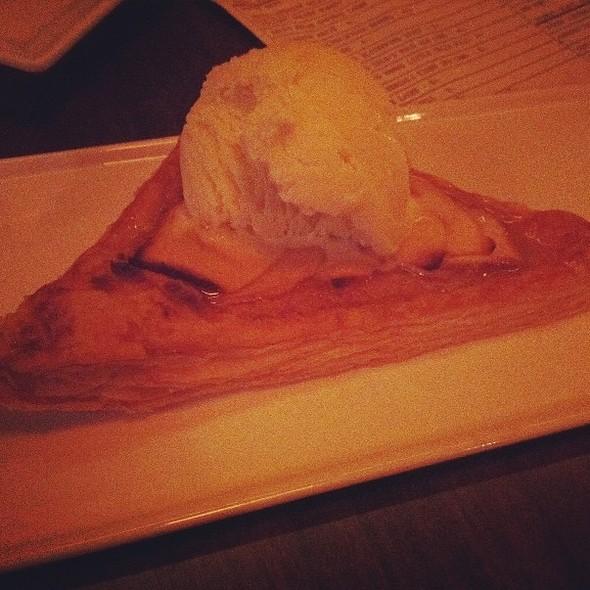 Apple Frangipani Tart, Lavender Ice Cream - Serrano, Philadelphia, PA