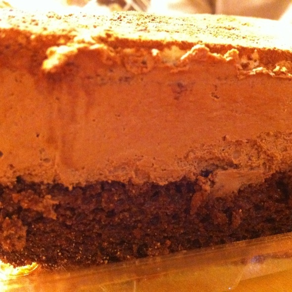 Vegan Chocolate Mousse Cake @ Whole Foods Market - Clapham Junction