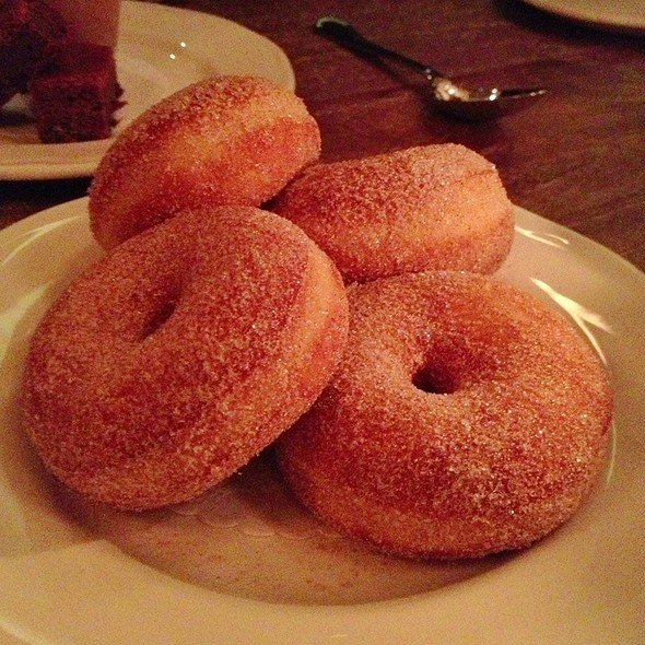 Warm Cinnamon-Sugar Donuts - Balena Italian - Temporarily Closed, Chicago, IL