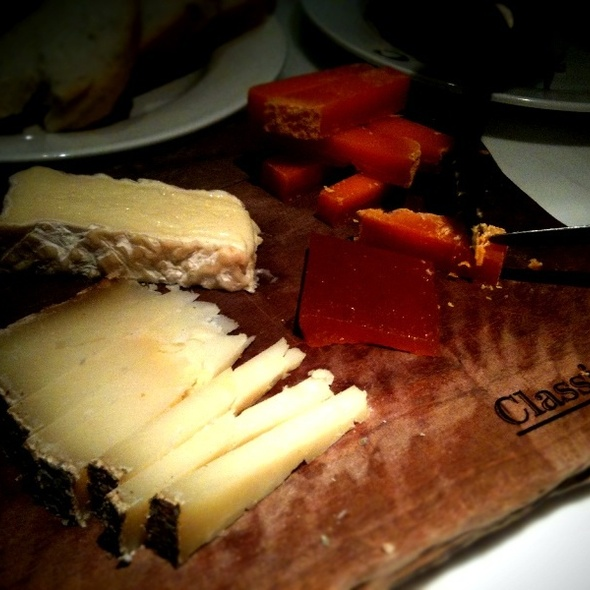 Cheese Platter @ Classified