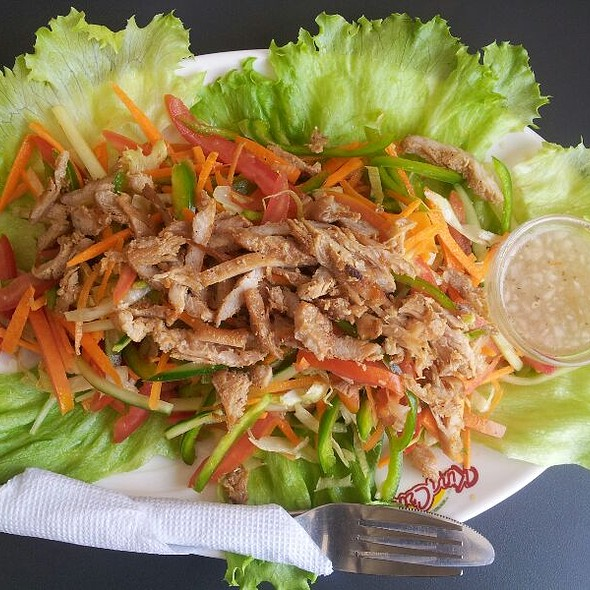 Chicken Strips Salad @ Nakumatt Galleria