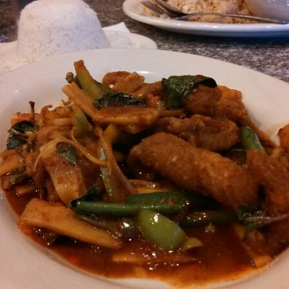 Thai Curry With Snapper