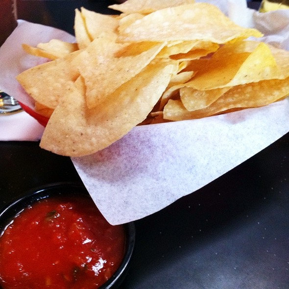 Tortilla Chips & Salsa @ Don Pablo's
