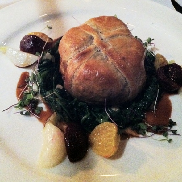 Beef Wellington - One if by Land, Two if by Sea, New York, NY