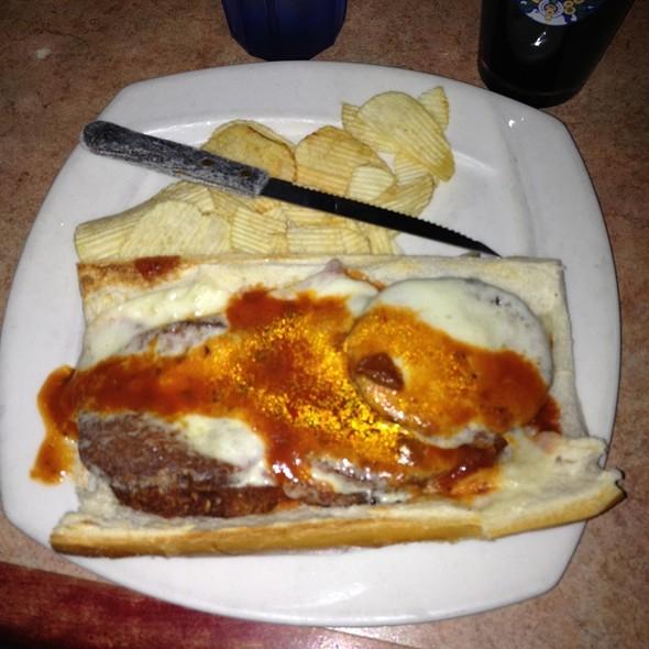 Eggplant Parmesan Sandwich @ JoJo's Tavern Restaurant
