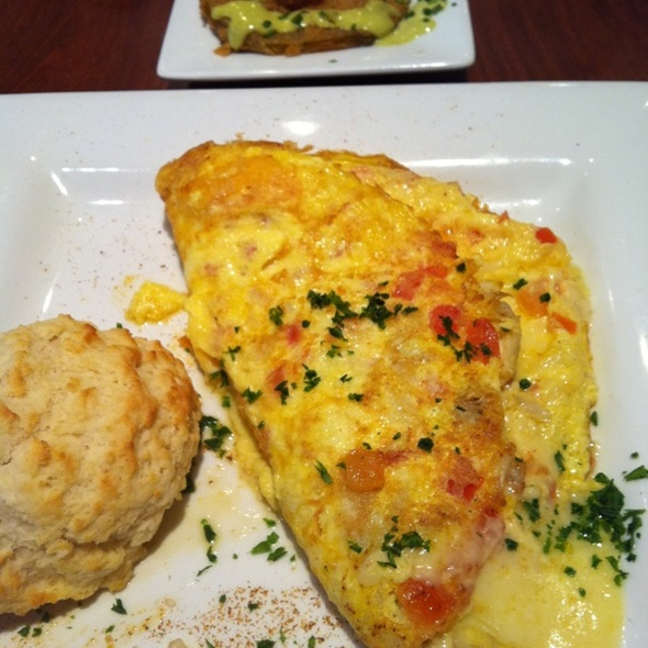 Maryland Omlette @ Miss Shirley's Cafe