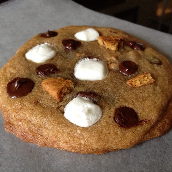 Marshmallow Campfire Cookie @ Crazy Good Cookies