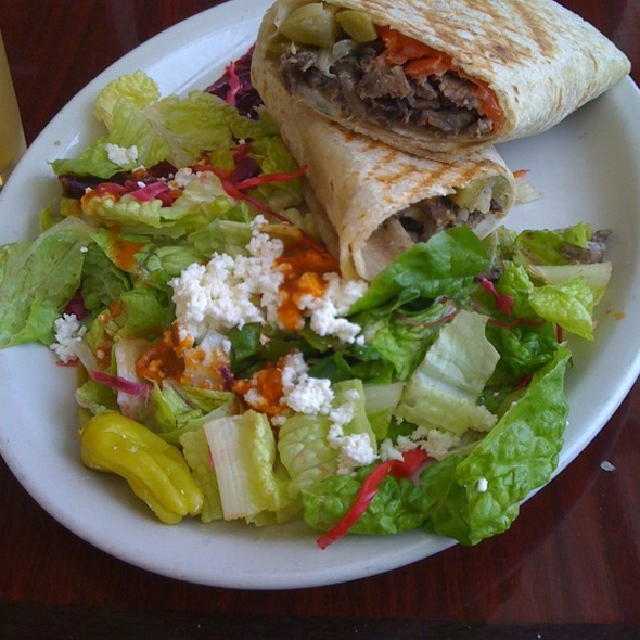 Beef Shawarma Wrap @ Pasha Restaurant