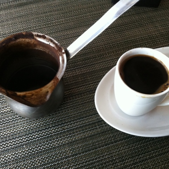 Turkish Coffee @ Me Jana Restaurant