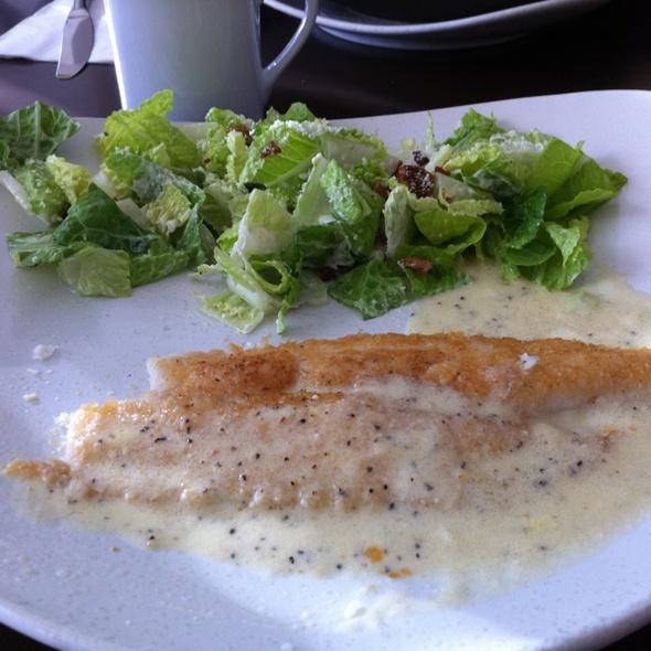 Lemon Pepper Filet Of Sole @ Cafe 28