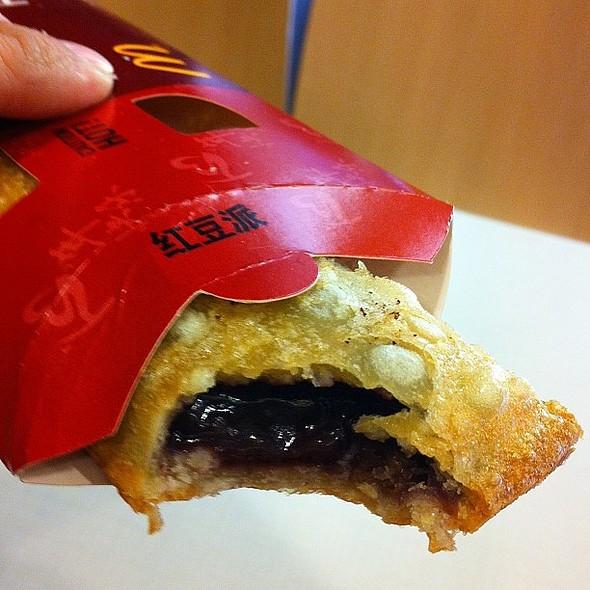 Red Bean Pie @ McDonald's