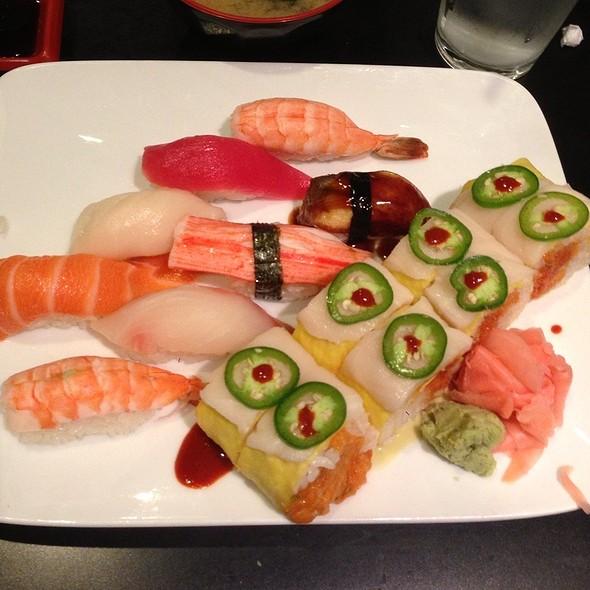 Sushi Combo @ Origami Sushi
