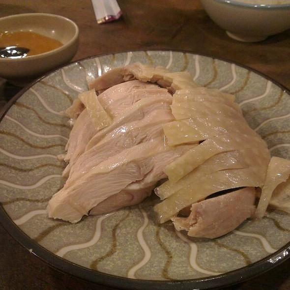 Steamed Chicken @ 晉江茶堂