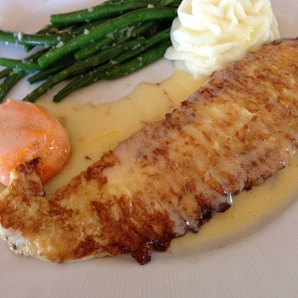 Flounder Francese At Kathys Gazebo Cafe