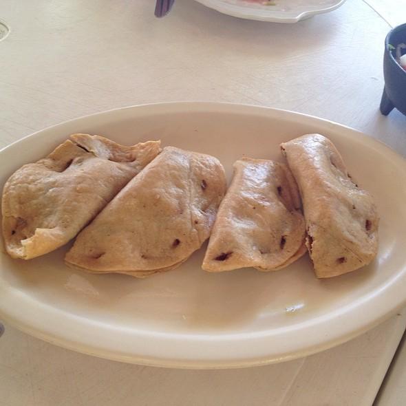 Pescadillas (Deep Fried Tacos Stuffed With Shark Meat) @ Restaurante el Fish Fritanga