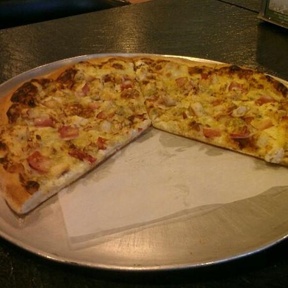 Chicken Cordon Blu Pizza @ Bear Country Pizza & Pastry