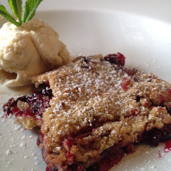 Blueberry Crumble @ 80 Sillas
