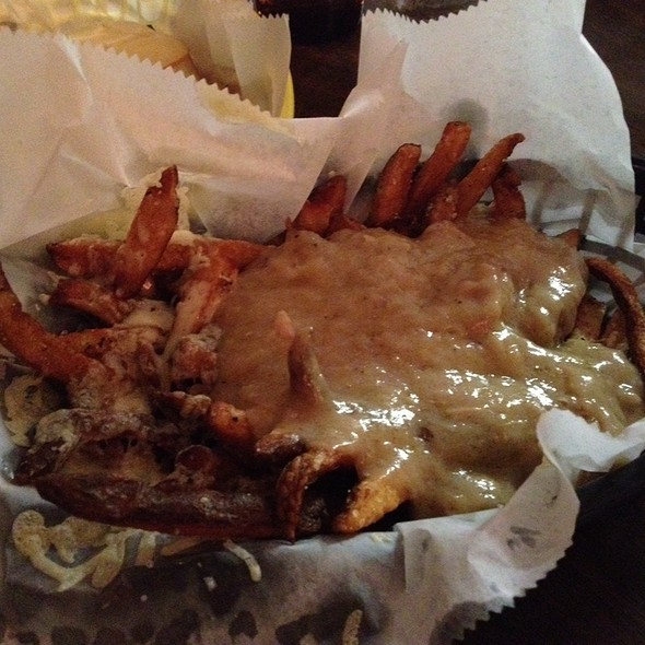 Pig Sty Fries With Cheese And Pork Debris Gravy
