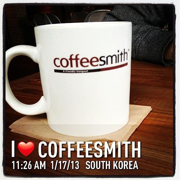 Drip coffee is so good here @ coffeesmith