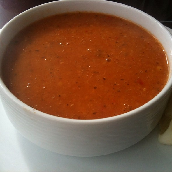 Ezogelin Corbasi (Red Lintil & Rice Soup Dressed With Dry Mint, Chili & Butter Sauce)