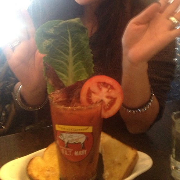 BLT Bloody Mary @ Hash House A-Gogo