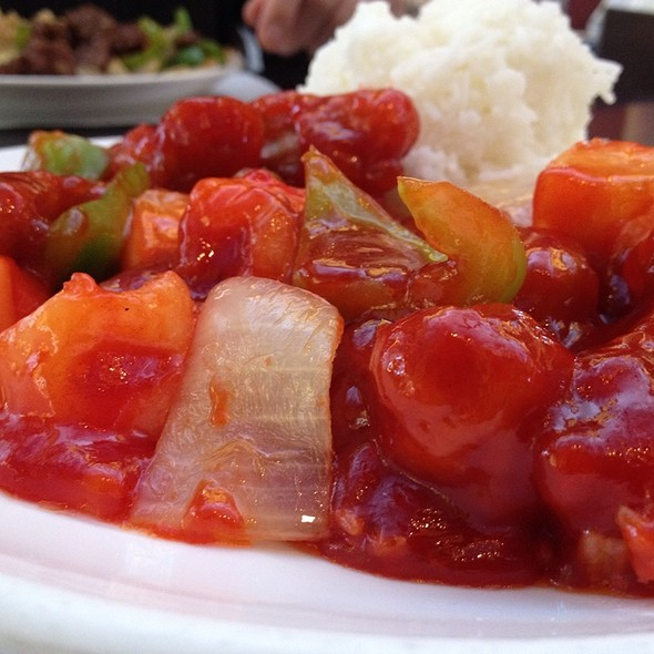 Sweet & Sour Pork @ Ginger Cafe