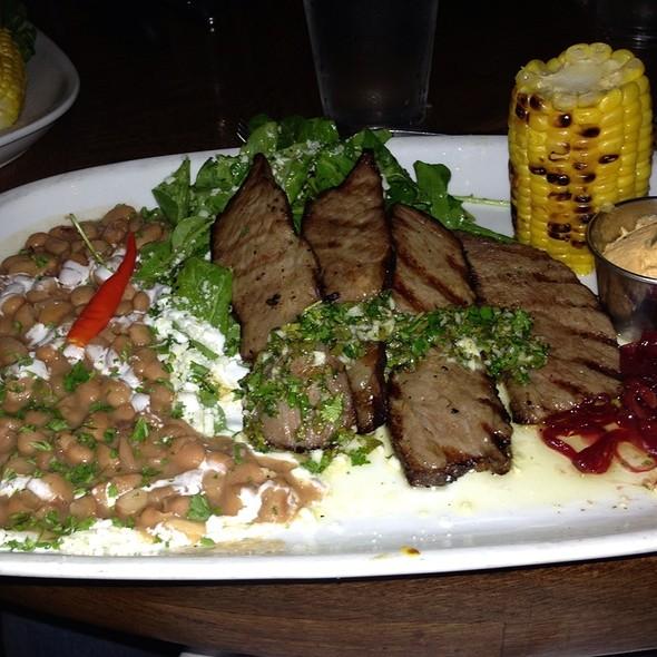 Grilled Flat Iron Steak - Indigo Grill, San Diego, CA