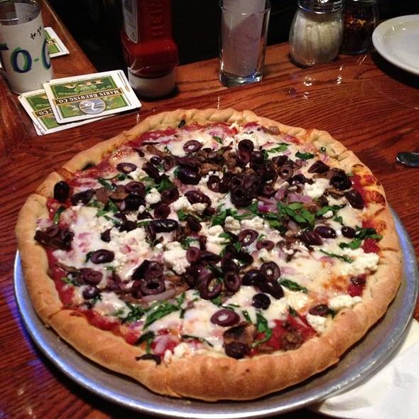 Spinach Pizza @ Marin Brewing Company