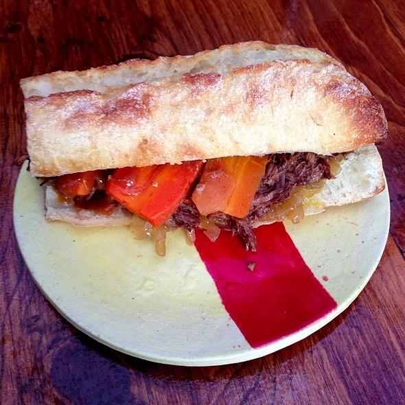 Beef Bourguignon Sandwich