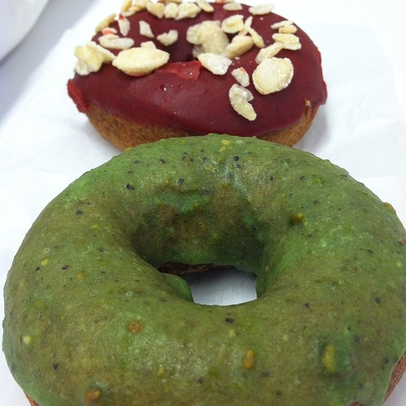 Pistachio, Sour Cherry Almond Fancies @ Federal Donuts