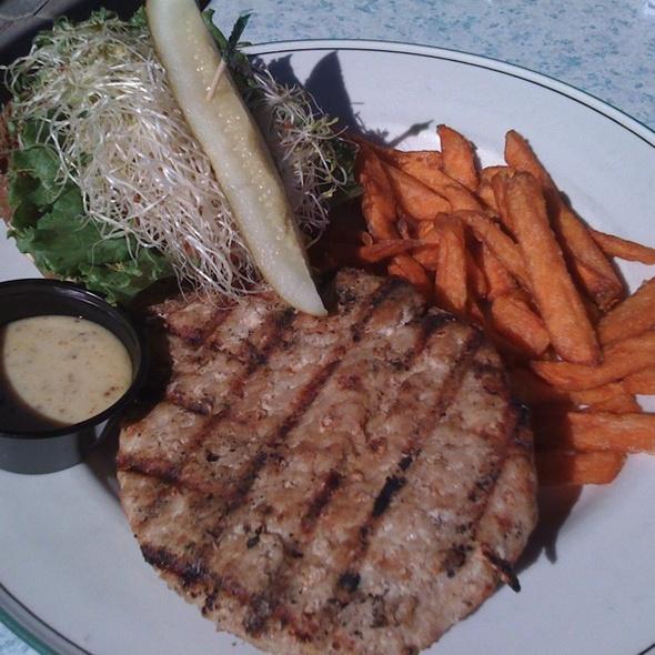 Turkey Burger - Waterway Cafe, Palm Beach Gardens, FL