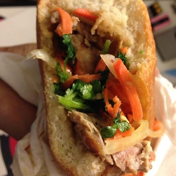 BBQ Chicken Banh Mi