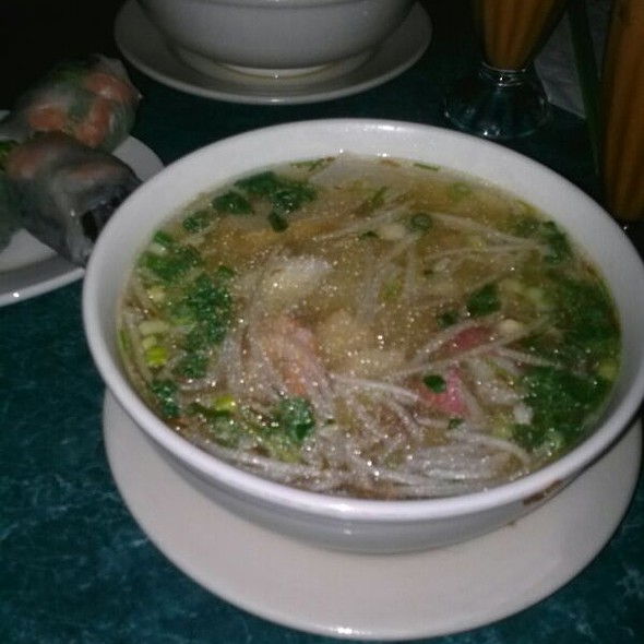 Seafood Noodle Soup @ Sunflower Authentic Vietnamese Restaurant