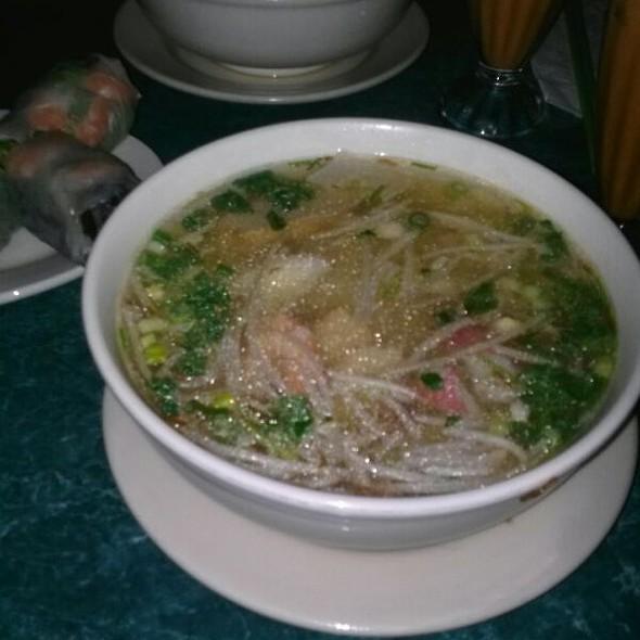 Seafood Noodle Soup @ Sunflower Authentic Vietnamese Restaurant
