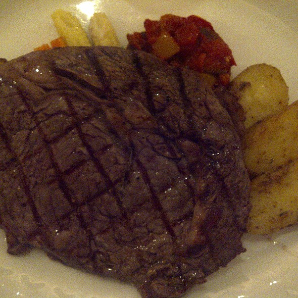 Prime US Angus beef rib eye @ Old Manila, The Peninsula Manila