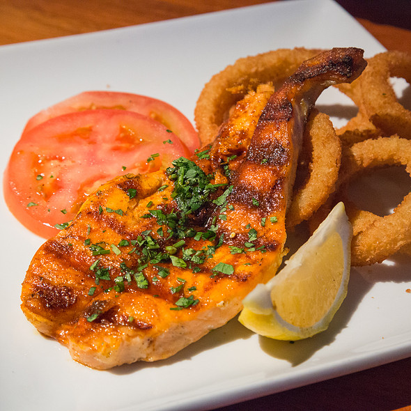 Salmon @ Fishbar Seafood Restaurant