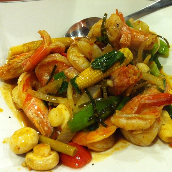 Spicy Shrimps In Thai Style